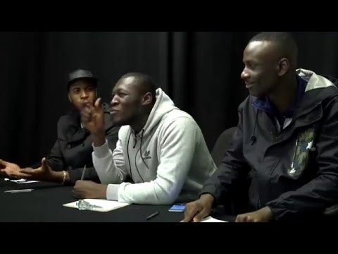 Stormzy does a Talent Show with Section Boyz
