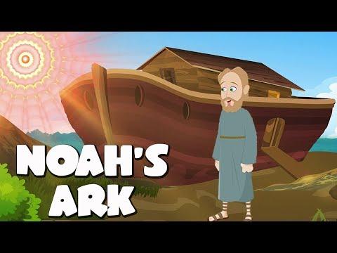Noah's Ark Bible Story For Kids - ( Children Christian Bible Cartoon Movie )| The Bible's True Story