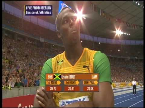 Usain Bolt&#39;s 200m record