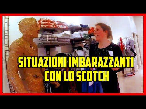 the show: come creare situazioni imbarazzanti con lo scotch!!