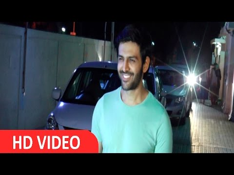 Kartik Aaryan at Special Screening of Film Te3n