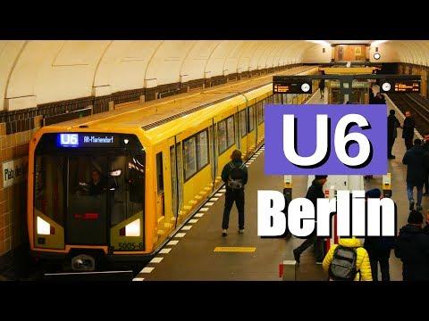 U6 der U-Bahn Berlin - zwischen Alt-Tegel und Alt-Mar ...