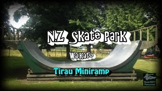Okoroire New Zealand  city images : NZ Skate Park Ep.40 - Tirau Mini Ramp Spot Check