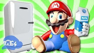 Video SMG4: Mario Goes to the Fridge to Get a Glass Of Milk MP3, 3GP, MP4, WEBM, AVI, FLV Februari 2019