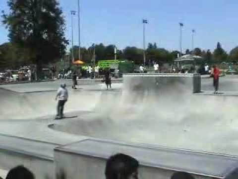 Sunnyvale Skatepark Free Flow Tour