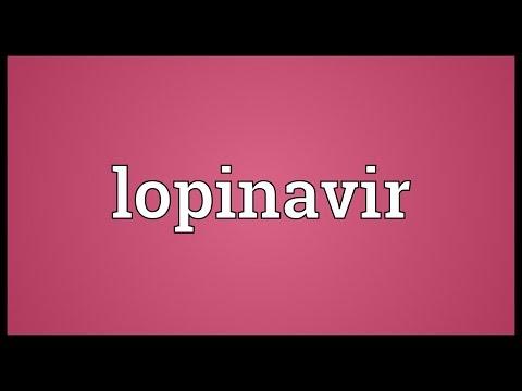 Lopinavir Meaning