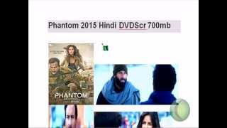 Phantom 2015 Hindi DVDScr 700mb unrated dvdrip