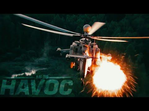 Mil Mi-28 in Action & Ми-28Н Ночной...