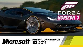 Forza Horizon 3 - Official E3 Trailer by GameSpot