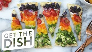 4 Fast and Easy Flatbreads For Pizza Lovers | Get the Dish by POPSUGAR Food