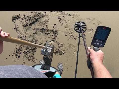 Beach Metal Detecting 1/10/20