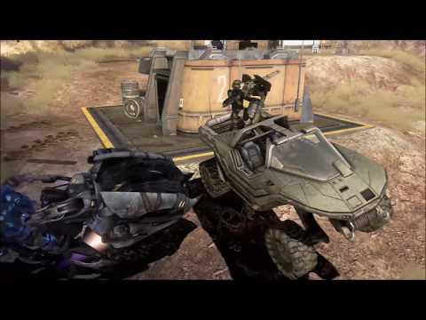 Halo 3 - Saving The Warthog On Tsavo Highway (видео)