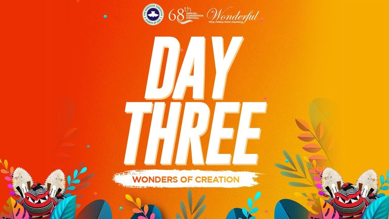 Day 3: Live RCCG Holy Ghost Convention 2020 PSF Hour - 5th August 2020