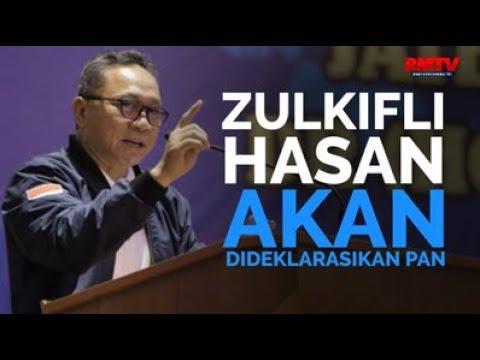 Zulkifli Hasan Akan Dideklarasikan PAN