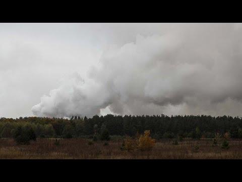 Ουκρανία: Ισχυρή έκρηξη σε αποθήκη πυρομαχικών