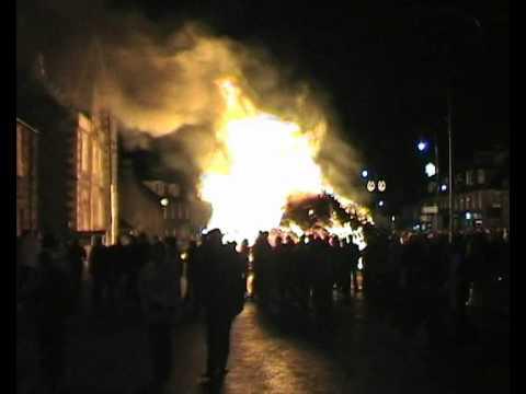 Biggar's bonfire