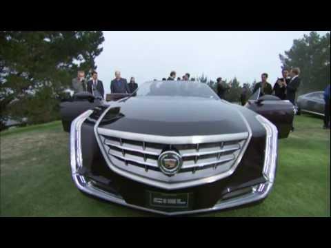Cadillac  Cadillac at 2011 Pebble Beach: Cadillac ELR (Converj) and Ciel reveal