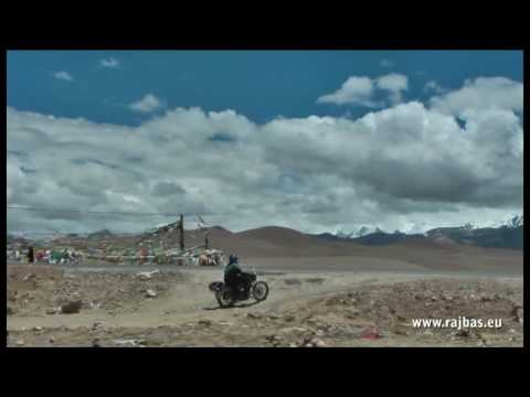 Tibet by motorbike Royal Enfield 2009