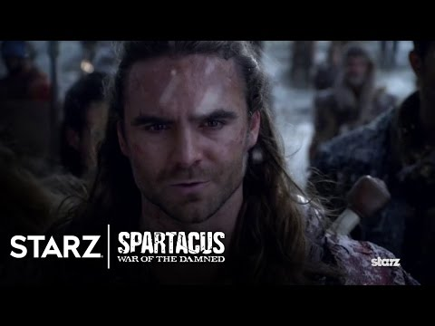 Spartacus 3.07 Clip 'Await Their Commander'
