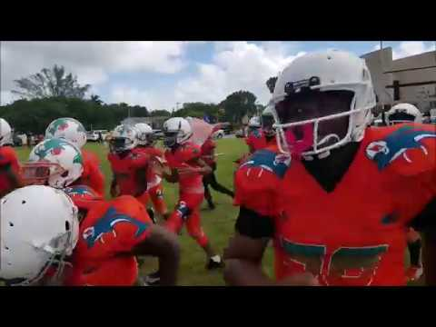 EAST MIRAMAR DOLPHINS 12U VS OAK GROVE RAIDERS HIGHLIGHTS 2019