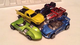 Team Hot Wheels Origin of Awesome 5-Pack!