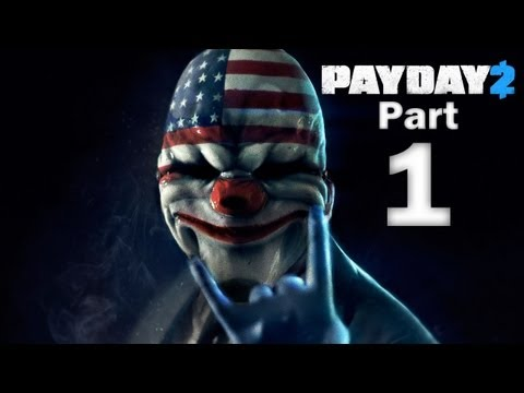 Payday 2 Co-Op Gameplay Walkthrough - Part 1 - Night Club