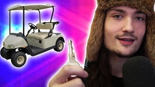 Stealing My Schools Golfcart by xCodeh