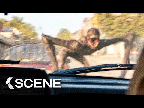 First Attack by the Monsters! Scene - A QUIET PLACE 2 (2021)