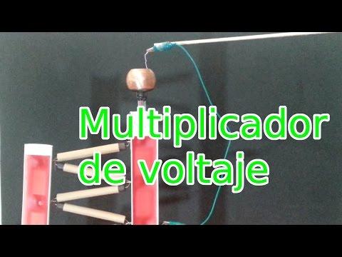 Multiplicador de Voltaje de 60,000 Voltios