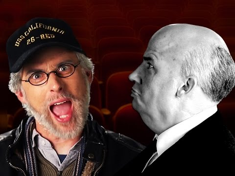 Steven Spielberg vs Alfred Hitchcock.   Epic Rap Battles of History. (видео)