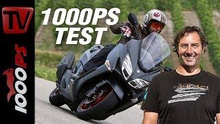 10. 1000PS Test - Suzuki Burgman 400 2018 - der Luxus-Roller wird sportlicher
