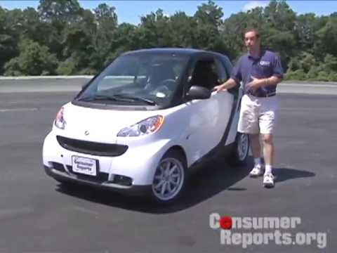 Smart Car Review from Consumer Reports