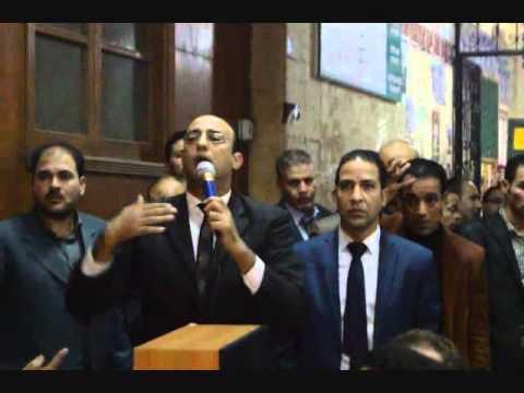 امام الصديق : يعلن الاضراب بمحكمة شبرا اذا لم تستجب مطالب المحامين