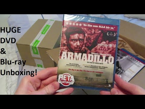 Another Huge DVD/Blu-ray Unboxing