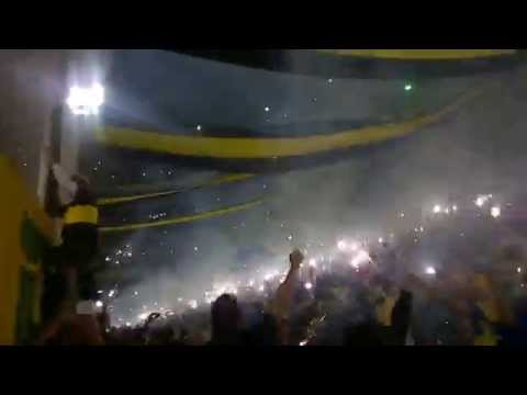 Video - Recibimiento Boca vs Riber Copa Libertadores 14/5/15 - La 12 - Boca Juniors - Argentina