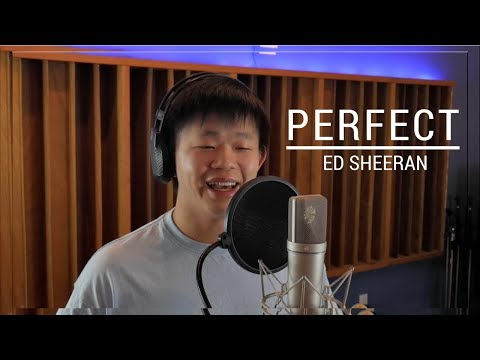 Perfect - Ed Sheeran (Cover by Alan Hwang) (видео)
