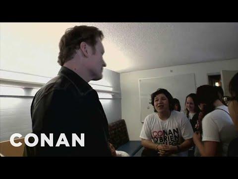 Conan na návštěvě své vlastní univerzity