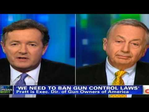 Another Reasonable Person Bullied By Piers Morgan On 2nd Amendment
