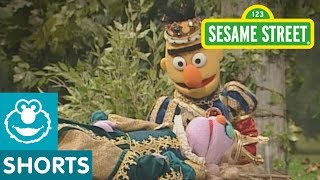 Bert is pretending to be Prince Charming in Sleeping Beauty! He wakes the beautiful princess but she doesn't get the happily ever after she was expecting!--Subscribe to the Sesame Street Channel here: http://www.youtube.com/subscription_center?add_user=SesameStreet For more fun games and videos for your preschooler in a safe, child-friendly environment, visit us at http://www.sesamestreet.org Sesame Street is a production of Sesame Workshop, a nonprofit educational organization. The Workshop produces Sesame Street programs, seen in over 150 countries, and other acclaimed shows, including The Electric Company.  Beyond television, the Workshop produces content for multiple media platforms on a wide range of issues including literacy and numeracy, emotional wellbeing, health and wellness, and respect and understanding.  Learn more at http://www.sesamestreet.org.