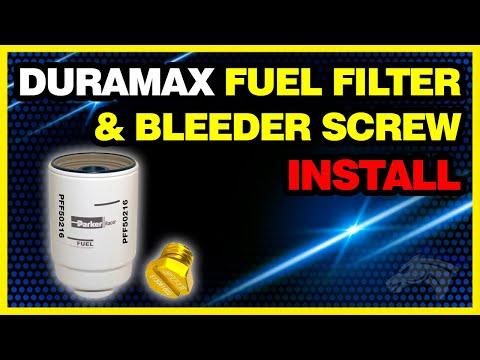 Duramax Fuel Filter Install – Chevy Duramax #PFF50216 : #1130730