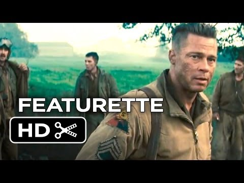 Fury Official Preview Featurette (2014) – Brad Pitt, Shia LaBeouf  War Movie HD
