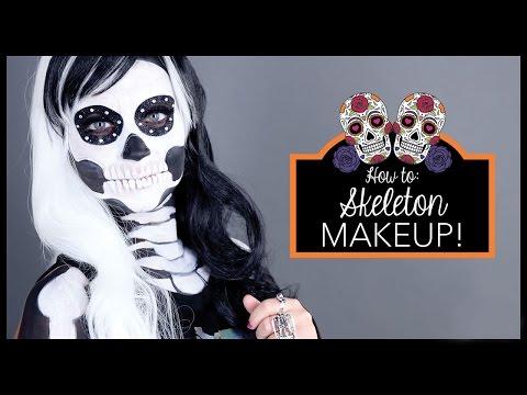 Skeleton Make-Up Tutorial | Icing Halloween Make-Up Tutorial