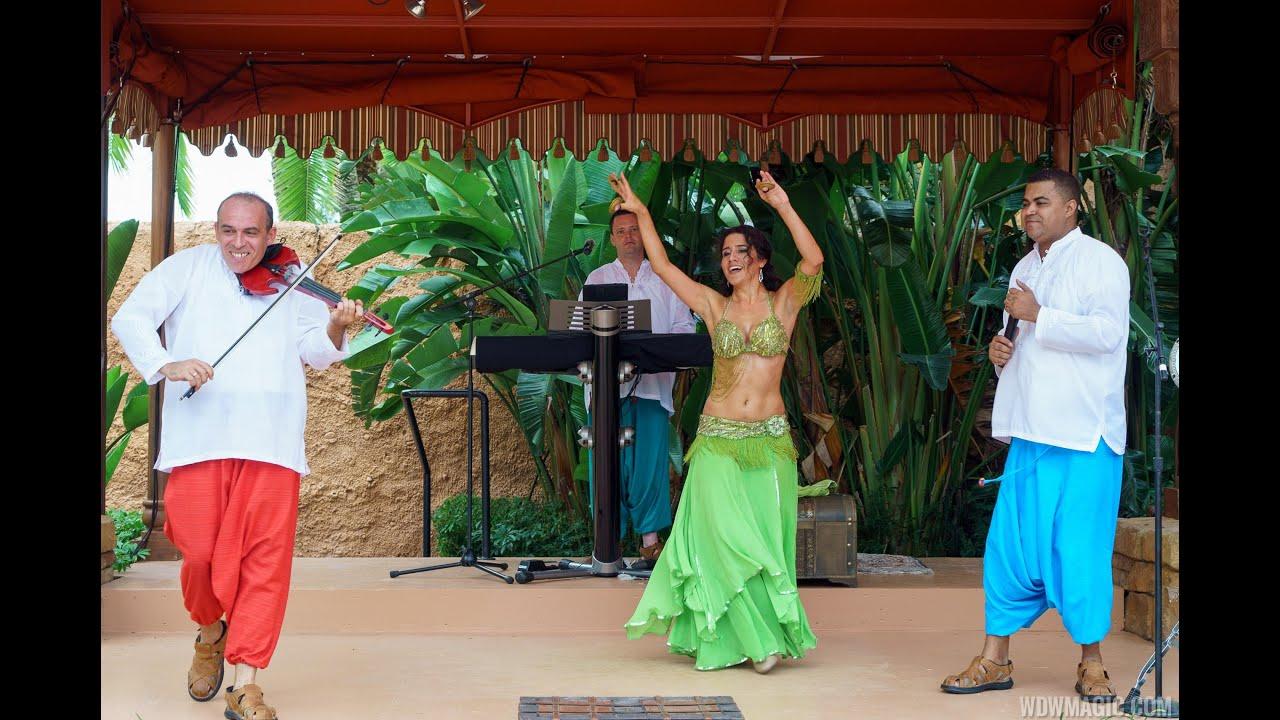 Musique Aramenco at Epcot's Morocco Pavilion