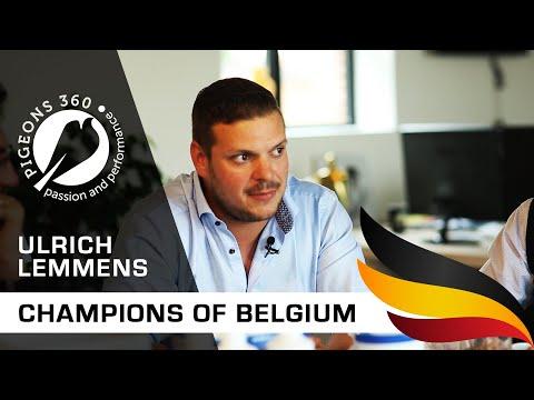 Champions of Belgium - Ulrich LEMMENS - Top Pigeon Fancier