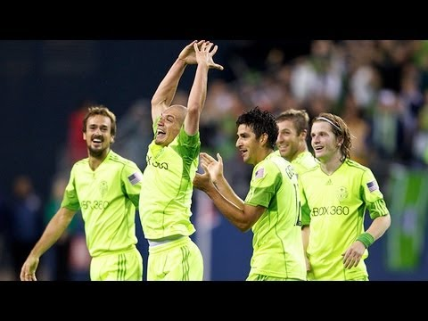 2011 Open Cup Final - Seattle Sounders FC vs. Chicago Fire: Osvaldo Alonso Goal - Oct. 4, 2011