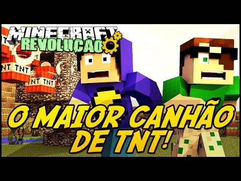 Minecraft: A REVOLUÇÃO – O MAIOR CANHÃO DE TNT! #51