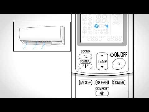 Návod na obsluhu: Daikin Comfort FTX-JV