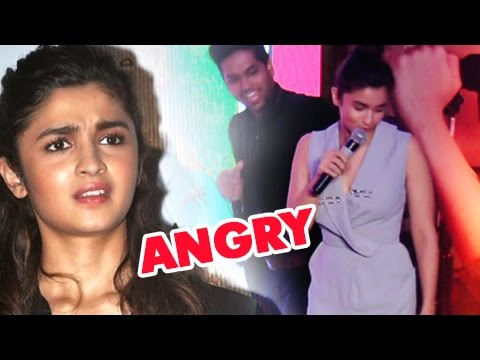 Alia Bhatt Gets PISSED Off On Jokes Cracked On Her