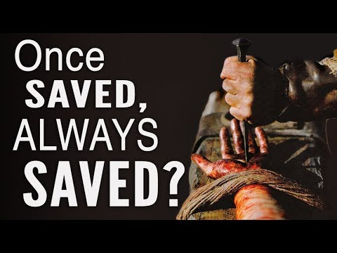 Can You LOSE SALVATION? (Once Saved, Always Saved?) (видео)