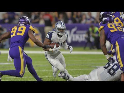The Dallas Cowboys vs Minnesota Vikings Week 10 Match
